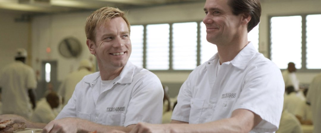 Jim Carrey and Ewan McGregor in I Love You Philip Morris