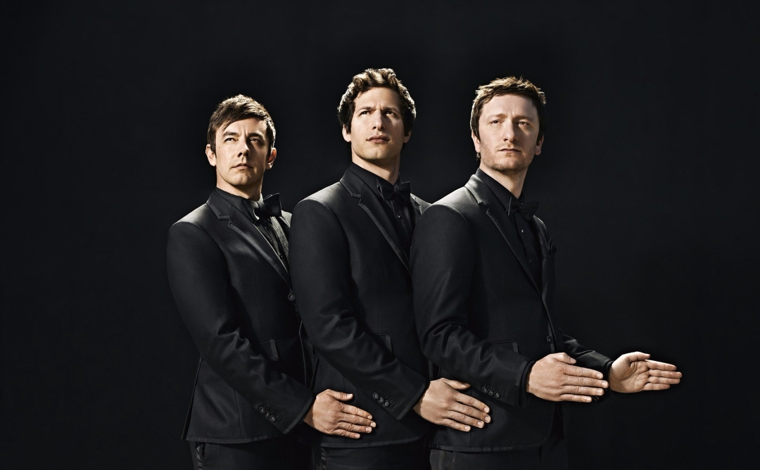 Andy Samberg, Jorma Taccone and Akiva Schaffer of The Lonely Island
