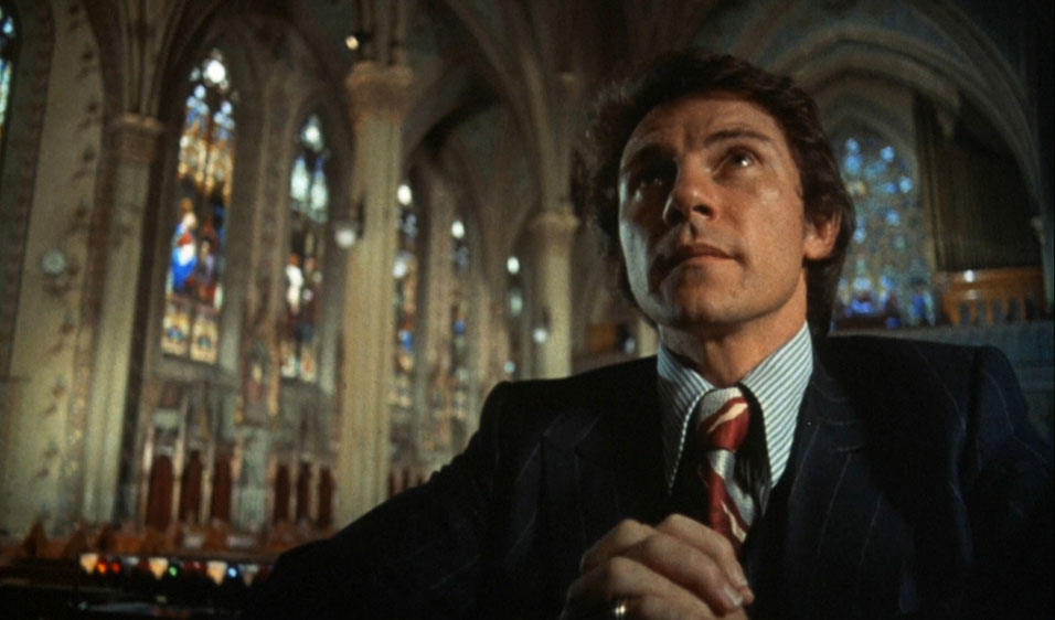 Harvey Keitel praying in Mean Streets