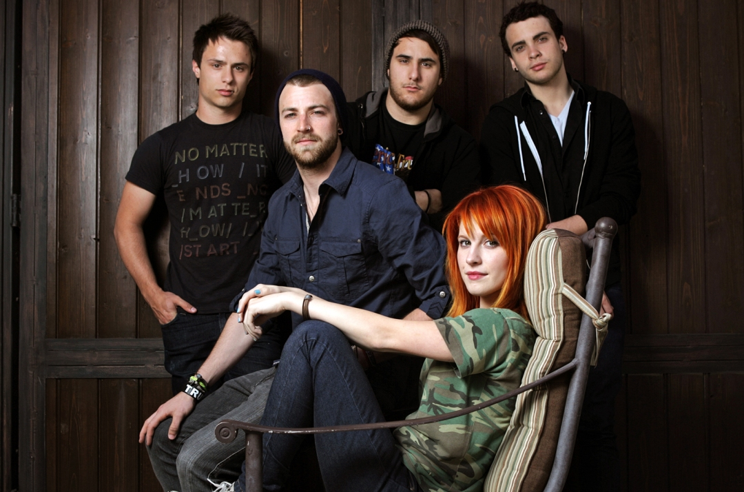 The band Paramore photographed at the home of producer Rob Cavallo in Hidden Hills on Apr. 28, 2009