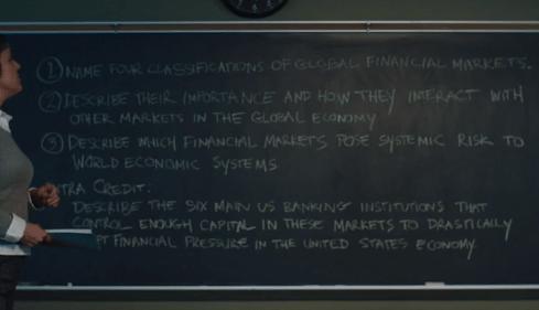 American Animals financial crash