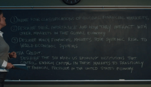 American Animals financial crash